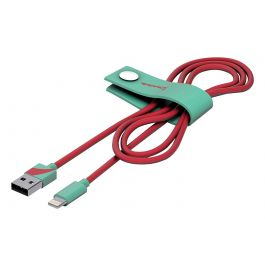Tribe Vespa Lightning Cable (120cm) - Acquamarine