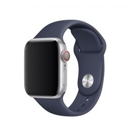 Apple Watch 44mm Band: Midnight Blue Sport Band - S/M & M/L-