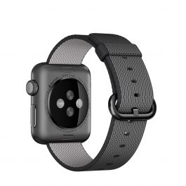 Apple 38 mm Woven Nylon - Crna