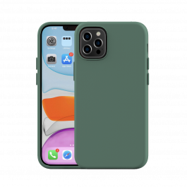 Next One Silicone Case for iPhone 12/12 Pro - Leaf Green