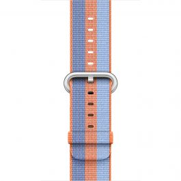 Apple - 38 mm Orange Woven Nylon