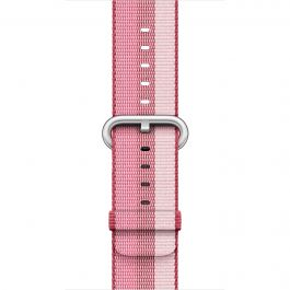 Apple - 38 mm Berry Woven Nylon