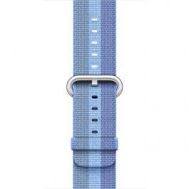 Apple - 38 mm Tahoe Blue Woven Nylon