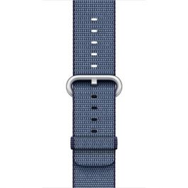 Apple - 38 mm Midnight Blue Woven Nylon