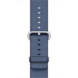 Apple - 38 mm Midnight Blue Woven Nylon