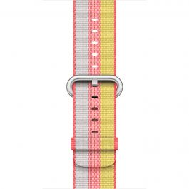 Apple - 42mm Red Woven Nylon