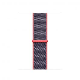 Apple Watch 38mm Band:Electric Pink Sport Loop