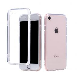 NEXT ONE Transparent Glass Case for iPhone 8