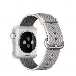 Apple 38 mm Woven Nylon - Biserna