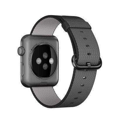 Apple 42 mm Woven Nylon - Crna