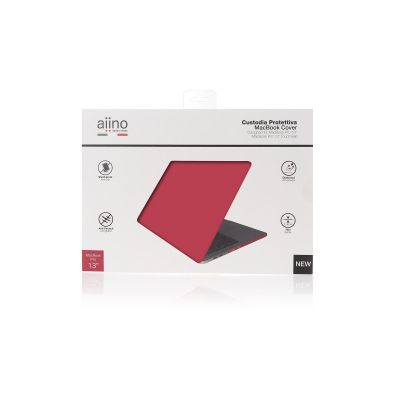 Aiino - MacBook Pro 13inch Retina matte (2016) case - Red