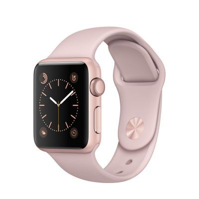 Apple Watch Series 1 - 38 mm Rose Gold Aluminium Case s Pink Sand Sport Band