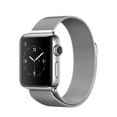 Apple Watch Series 2 - 38mm Stainless Steel Case sa Silver Milanese Loop