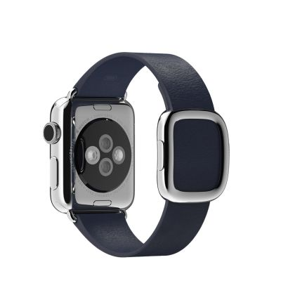 Apple 38 mm Modern Buckle (S) - Tamnoplava