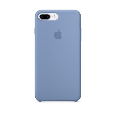 Apple - iPhone 7 Plus Silicone Case - Azure