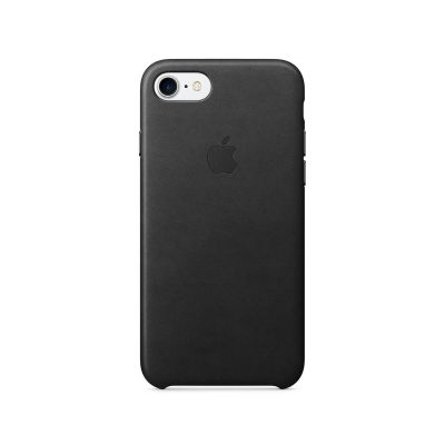 Apple iPhone 7 Leather Case - Crna