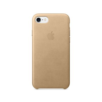 Apple iPhone 7 Leather Case - Tan