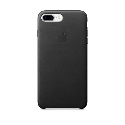 Apple iPhone 7 Plus Leather Case - Crna