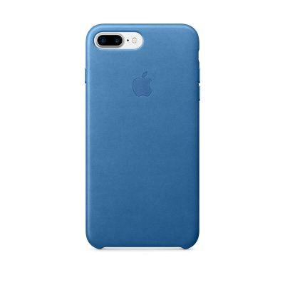 Apple iPhone 7 Plus Leather Case - Sea Blue