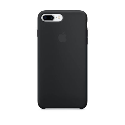 Apple iPhone 7 Plus Silicone Case - Crna