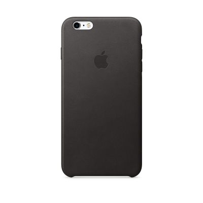 iPhone 6s Plus Leather Case - Crna