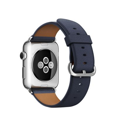 Apple 38 mm Classic Buckle - Tamnoplava