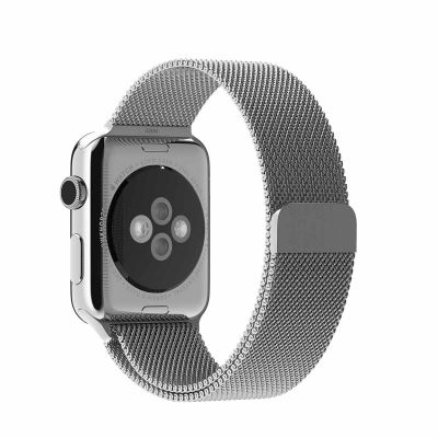 Apple 42 mm Milanese Loop - Srebrna
