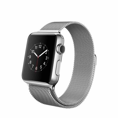 Apple Watch 38 mm Stainless Steel Case s Milanese Loop