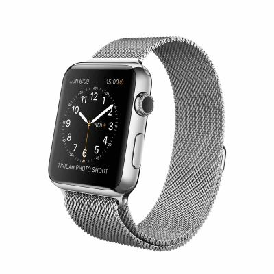 Apple Watch 42 mm Stainless Steel Case s Milanese Loop