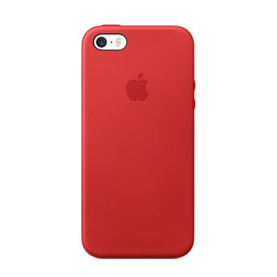 Apple - iPhone SE Leather Case - (PRODUCT)RED