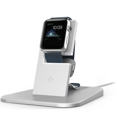 Twelve South HiRise za Apple Watch - Srebrna