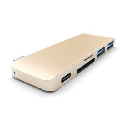 Satechi USB-C Pass Through Hub with USB-C Charging Port