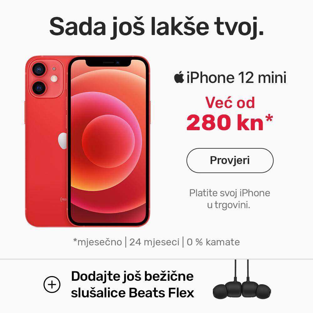 iPhone 12 mini na 24 rate