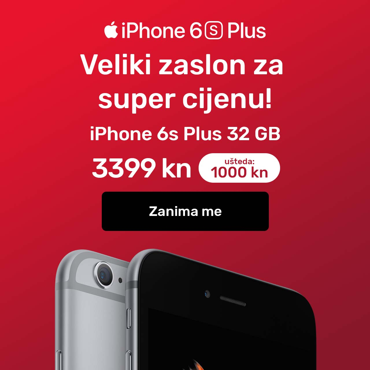 iPhone 6S Plus akcija