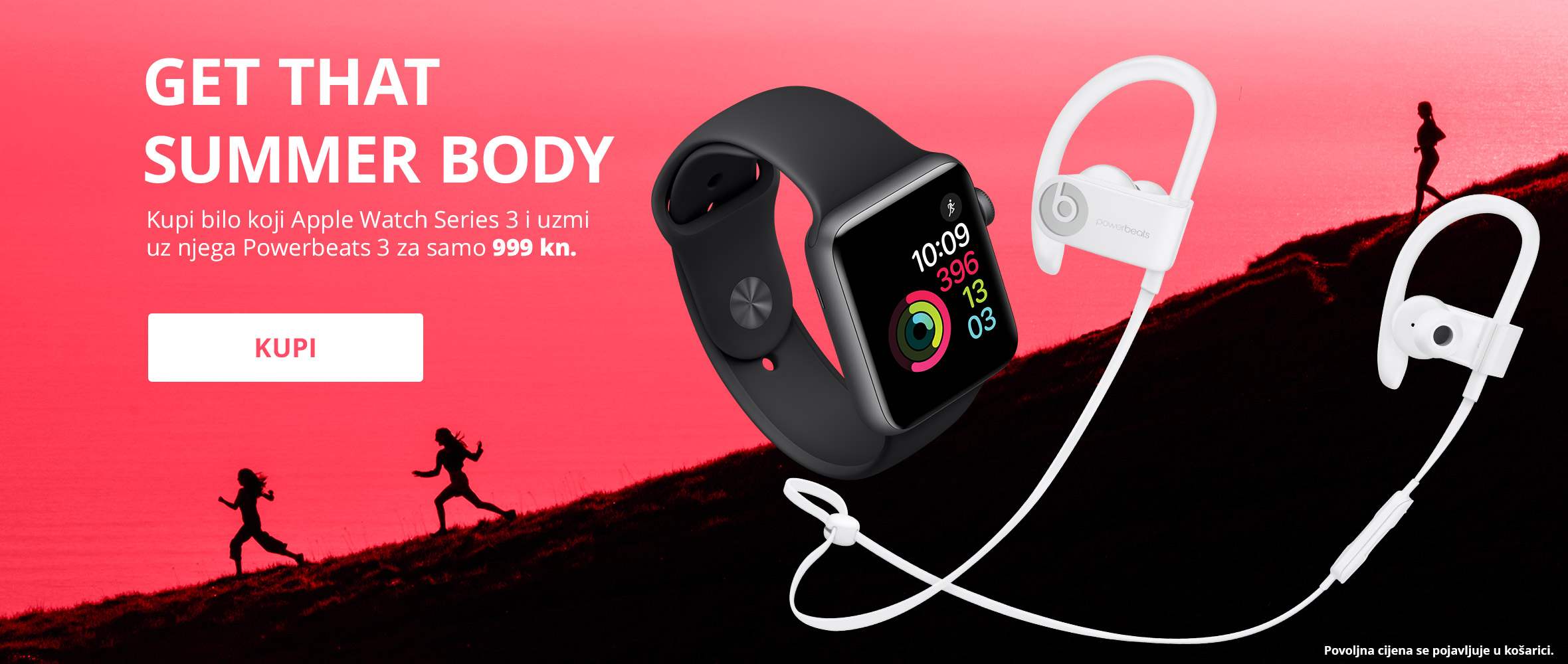 Apple Watch Series 3 Powerbeats 3