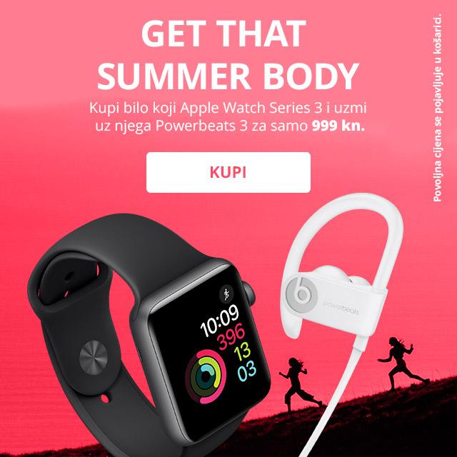 Apple Watch Series 3 Powerbeats 3