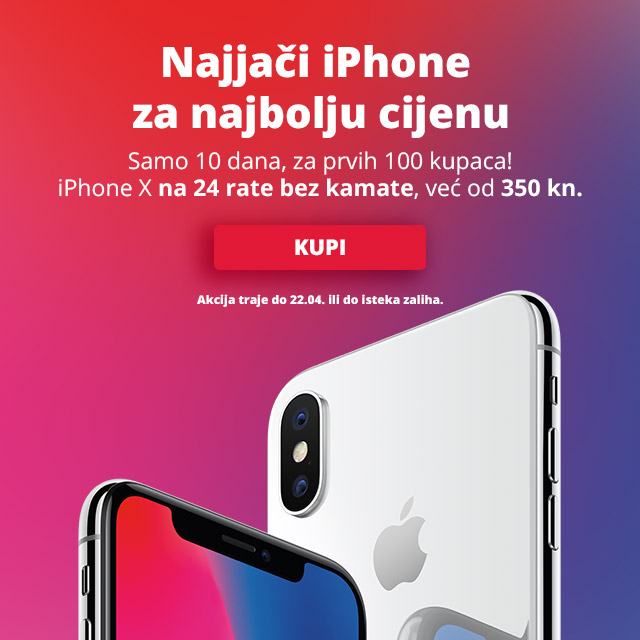iPhone X akcija